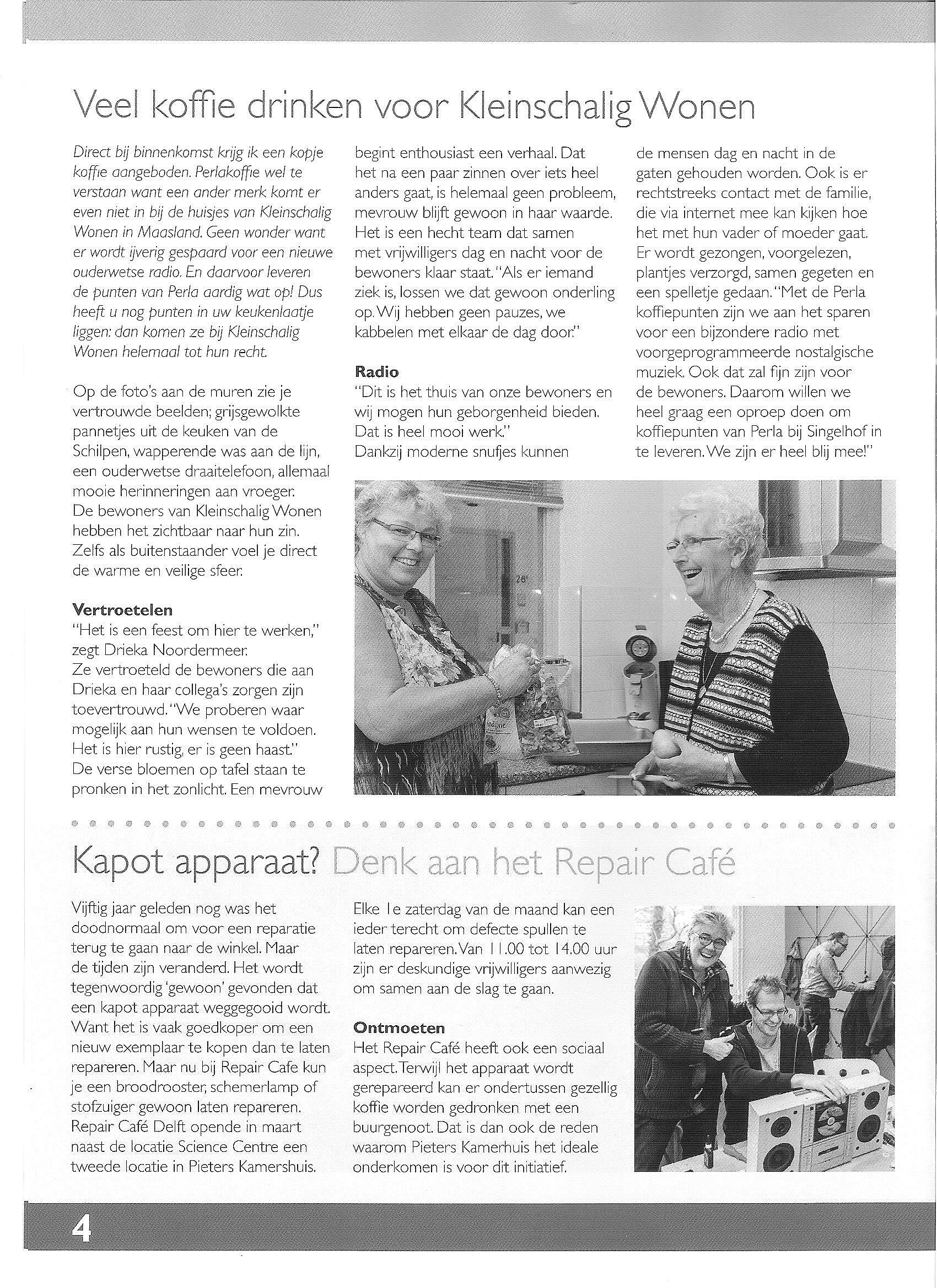 Repair Cafe P.v. Foreest