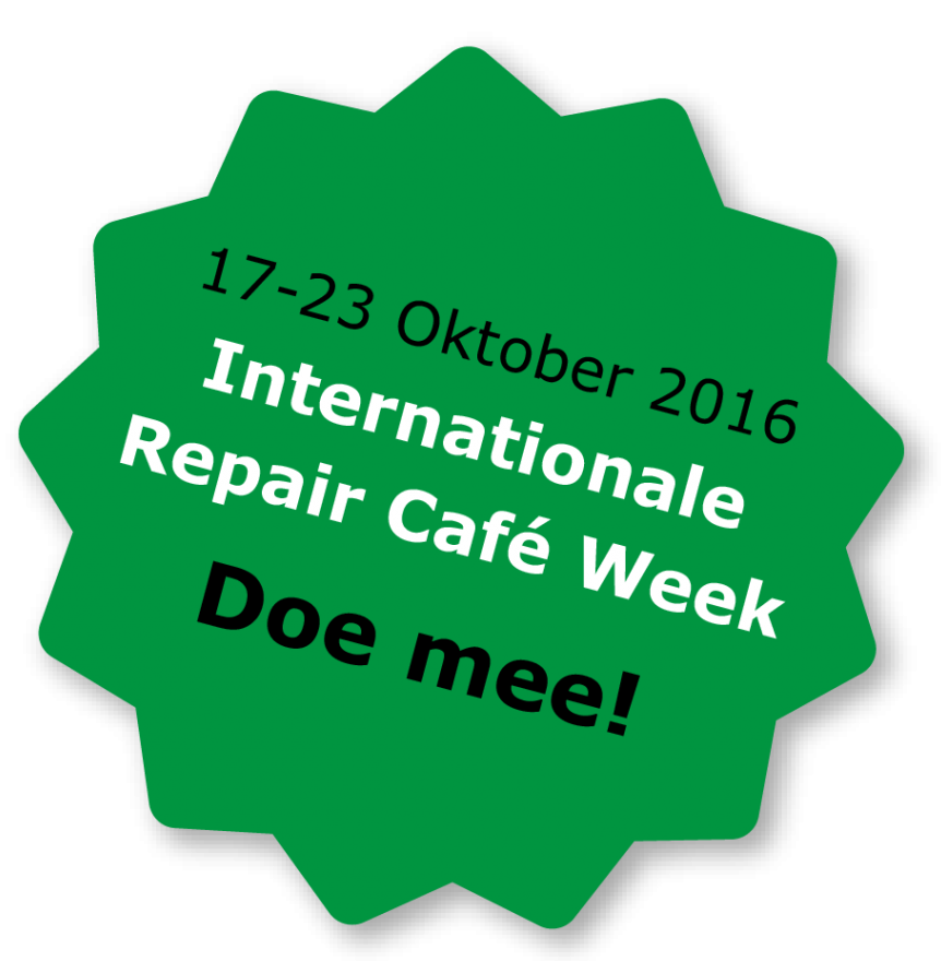 International Repair Café week